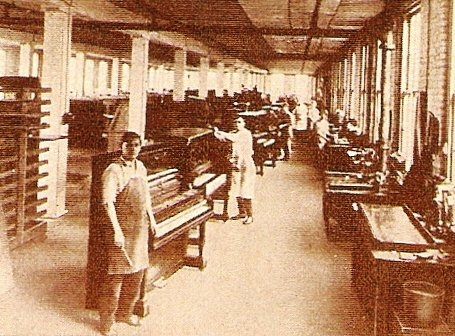 Piano manufacturing turn of the century